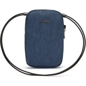 Pacsafe RFIDsafe Bolso Cruzado, azul